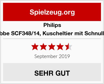 Philips Snuggle Robbe SCF348/14, Kuscheltier mit Schnuller ultra soft Test