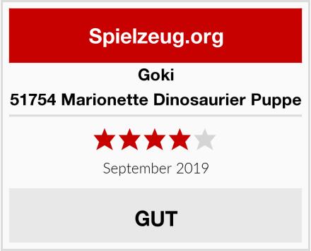 Goki 51754 Marionette Dinosaurier Puppe Test
