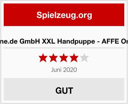 alles-meine.de GmbH XXL Handpuppe - AFFE Orang Utan Test