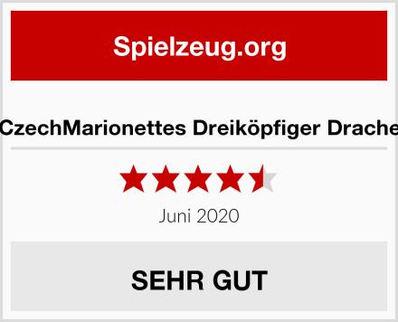 CzechMarionettes Dreiköpfiger Drache Test