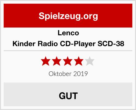 Lenco Kinder Radio CD-Player SCD-38 Test