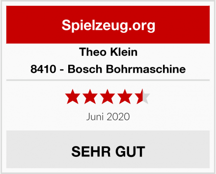 Theo Klein 8410 - Bosch Bohrmaschine Test