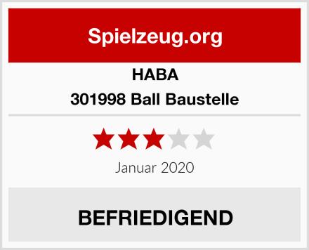 HABA 301998 Ball Baustelle Test