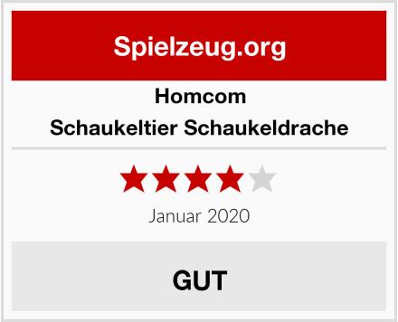 Homcom Schaukeltier Schaukeldrache Test