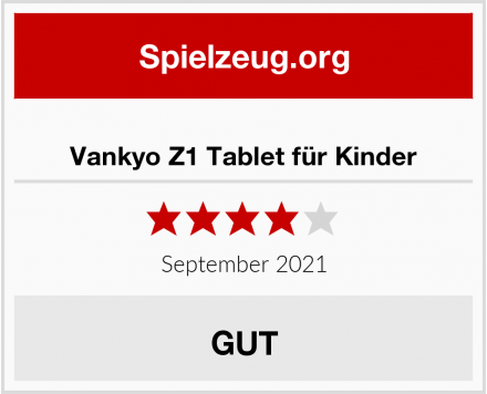 Vankyo Z1 Tablet für Kinder Test