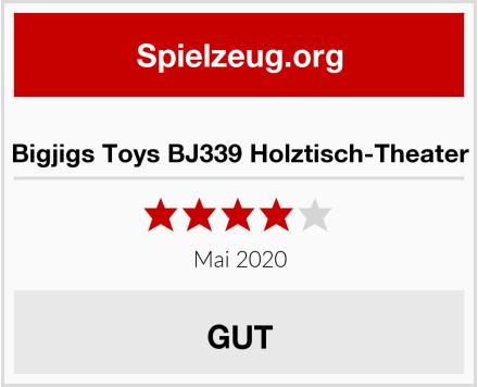 Bigjigs Toys BJ339 Holztisch-Theater Test