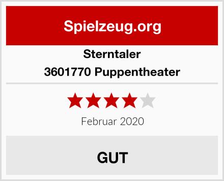 Sterntaler 3601770 Puppentheater Test