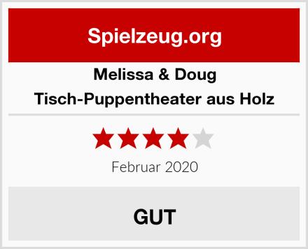 Melissa & Doug Tisch-Puppentheater aus Holz Test