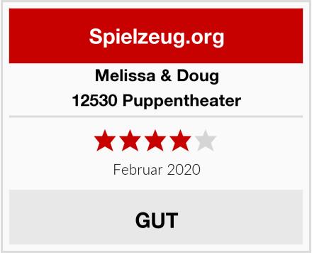 Melissa & Doug 12530 Puppentheater Test