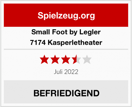 Small Foot by Legler 7174 Kasperletheater Test