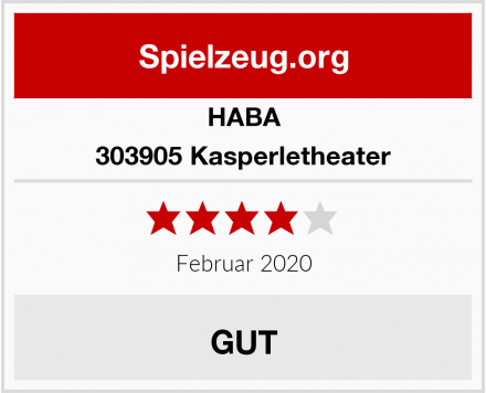 HABA 303905 Kasperletheater Test