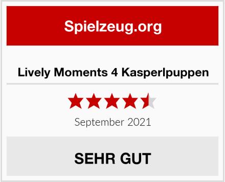 Lively Moments 4 Kasperlpuppen Test