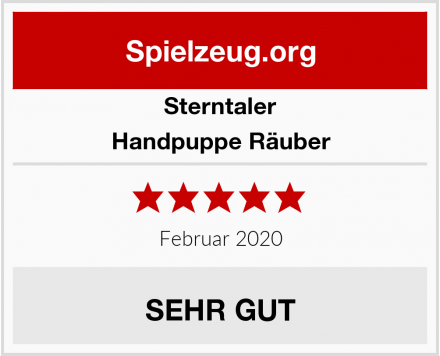 Sterntaler Handpuppe Räuber Test