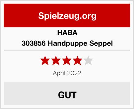 HABA 303856 Handpuppe Seppel Test