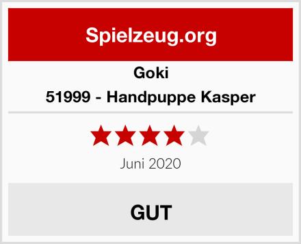 Goki 51999 - Handpuppe Kasper Test
