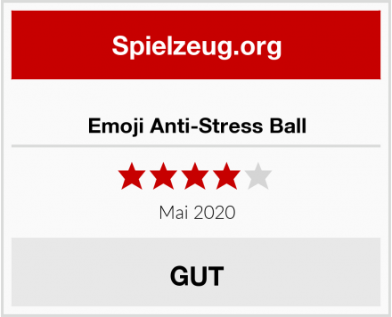 Emoji Anti-Stress Ball Test