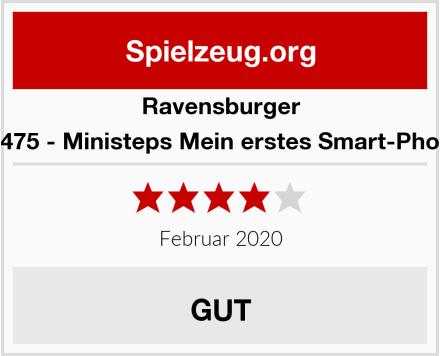 Ravensburger 04475 - Ministeps Mein erstes Smart-Phone Test