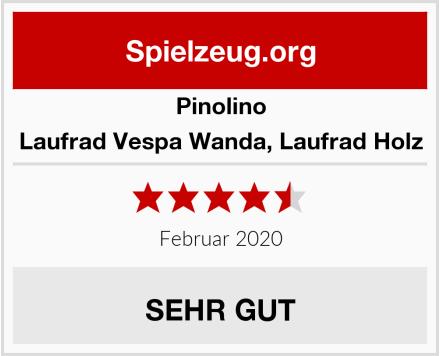 Pinolino Laufrad Vespa Wanda, Laufrad Holz Test