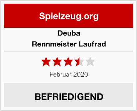 Deuba Rennmeister Laufrad Test
