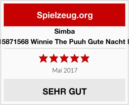 Simba 6315871568 Winnie The Puuh Gute Nacht Bär Test