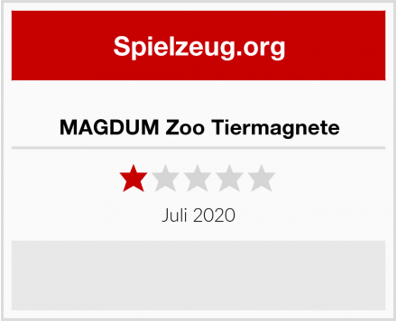 MAGDUM Zoo Tiermagnete Test
