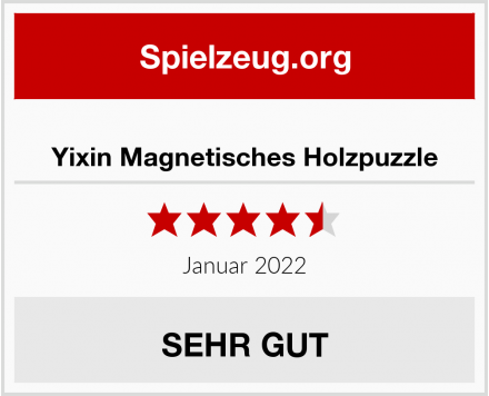 Yixin Magnetisches Holzpuzzle Test