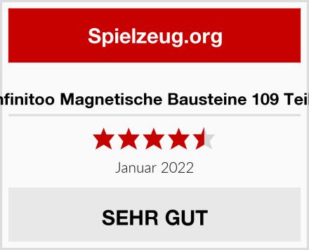 Infinitoo Magnetische Bausteine 109 Teile Test