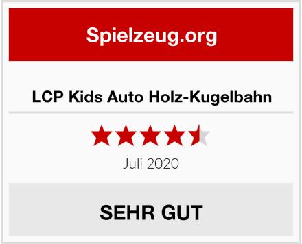 LCP Kids Auto Holz-Kugelbahn Test