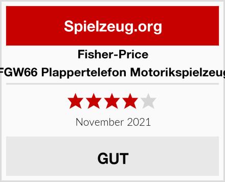 Fisher-Price FGW66 Plappertelefon Motorikspielzeug Test