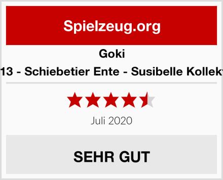 Goki 54913 - Schiebetier Ente - Susibelle Kollektion Test