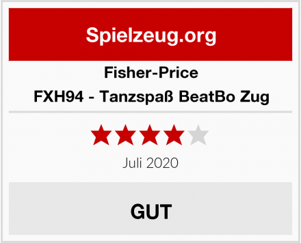 Fisher-Price FXH94 - Tanzspaß BeatBo Zug Test