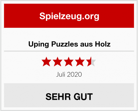 Uping Puzzles aus Holz Test