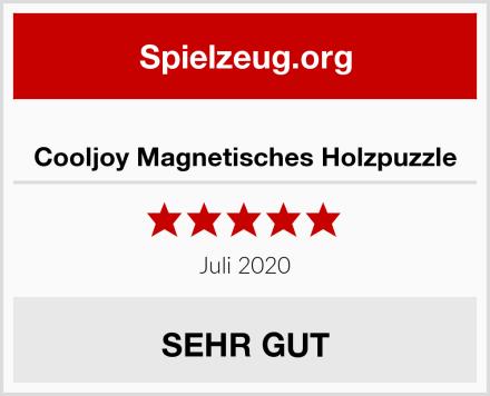 Cooljoy Magnetisches Holzpuzzle Test