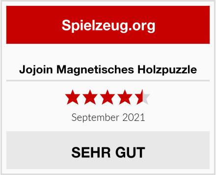 Jojoin Magnetisches Holzpuzzle Test