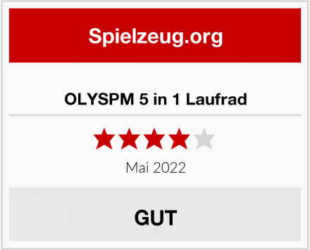 OLYSPM 5 in 1 Laufrad Test