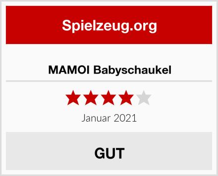 MAMOI Babyschaukel Test