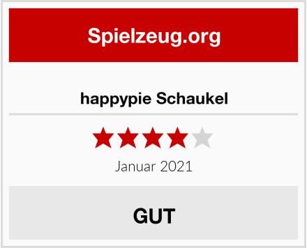 happypie Schaukel Test