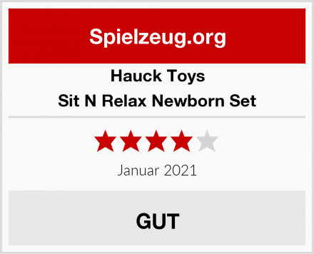 Hauck Toys Sit N Relax Newborn Set Test