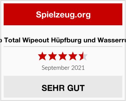 BeBop Total Wipeout Hüpfburg und Wasserrutsche Test