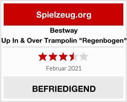 "Bestway Up In & Over Trampolin ""Regenbogen"" Test"