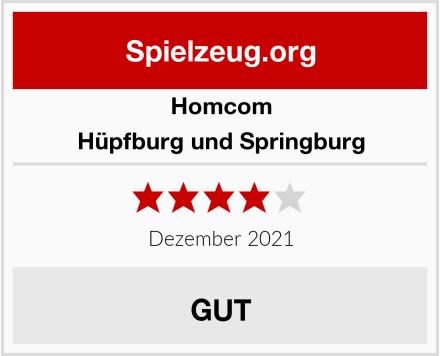 HOMCOM Hüpfburg und Springburg Test