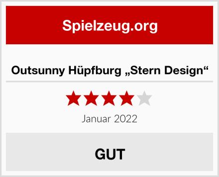 "Outsunny Hüpfburg ""Stern Design"" Test"