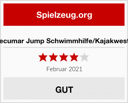 Secumar Jump Schwimmhilfe/Kajakweste Test