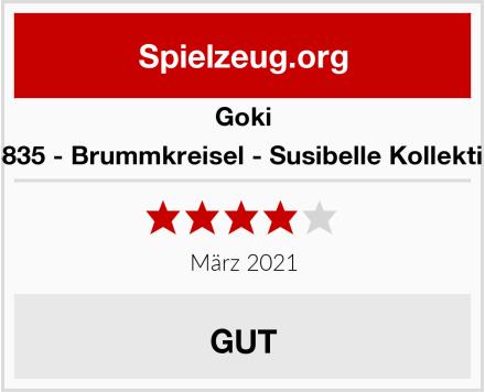 Goki 53835 - Brummkreisel - Susibelle Kollektion Test