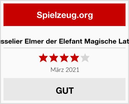 Trousselier Elmer der Elefant Magische Laterne Test