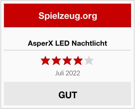 AsperX LED Nachtlicht Test