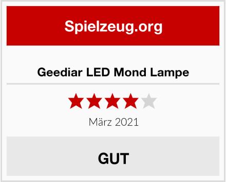 Geediar LED Mond Lampe Test