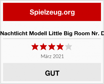 Djeco Nachtlicht Modell Little Big Room Nr. DD0340 Test