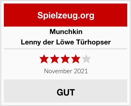 Munchkin Lenny der Löwe Türhopser Test