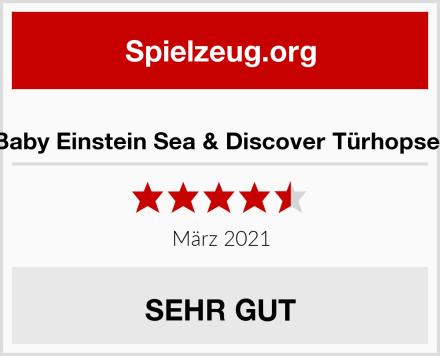 Baby Einstein Sea & Discover Türhopser Test